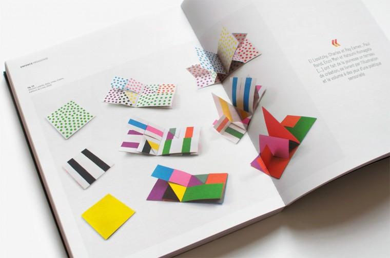 dots, lines, colors en double-page dans le numéro 225 du magazine étapes