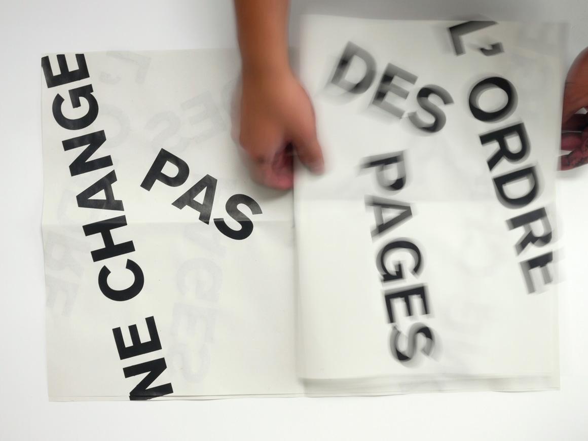 Le sens du texte by Baptiste Gerbelot-Barillon